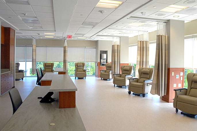 Infusion Center at the Ortenzio Cancer Center